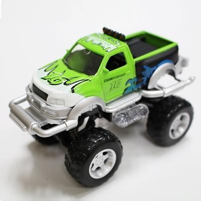 FOOD超人有聲迴力越野車 綠色 (OS shop)