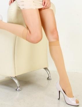 ★衣心衣足★全彈性中統襪 絲襪 高統襪 半統襪 黑膚色 台灣製 【00093】