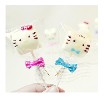 幸福朵朵Kitty&丹尼爾手作巧克力棉花糖x50支婚禮小物二次進場擺桌喜糖生日慶生同樂會