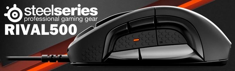 [地瓜球@] 賽睿 SteelSeries Rival 500 RGB 電競 光學 滑鼠~拂動式微動開關