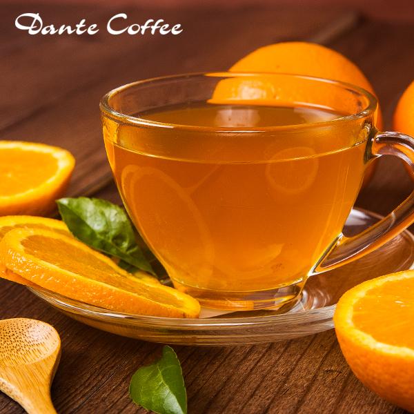 熱柚香桔茶(12oz)