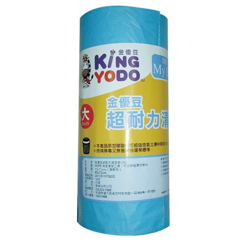 金優豆超耐力清潔垃圾袋(大)平底【愛買】