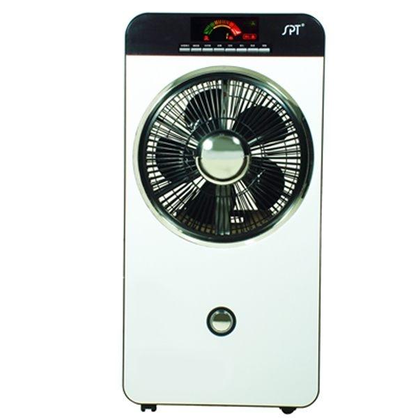 尚朋堂 彩頻顯示空氣清淨霧化扇 SPY-885M / SPY885M 負離子空氣淨化功能