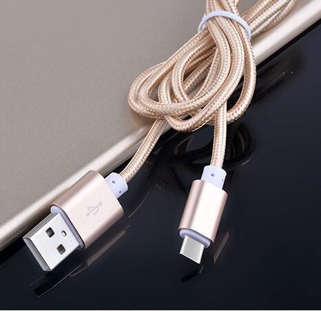 Type-C 手機數據線 Type-C充電線 尼龍 編織 金屬 充電線 HTC M10 G5 小米5