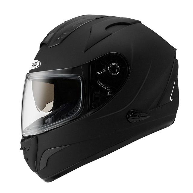 ZEUS瑞獅ZS 806F素色消光黑全罩安全帽雙層鏡片免運費