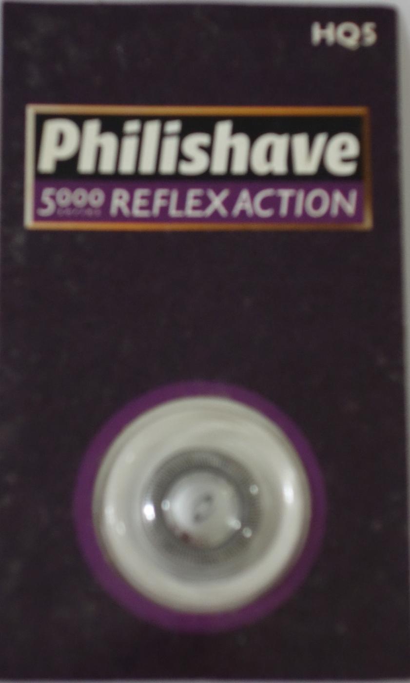 PHILIPS飛利浦HQ5荷蘭製刮鬍刀刀頭雙刀鋒設計電鬍刀原廠單顆入Philishave HQ-5