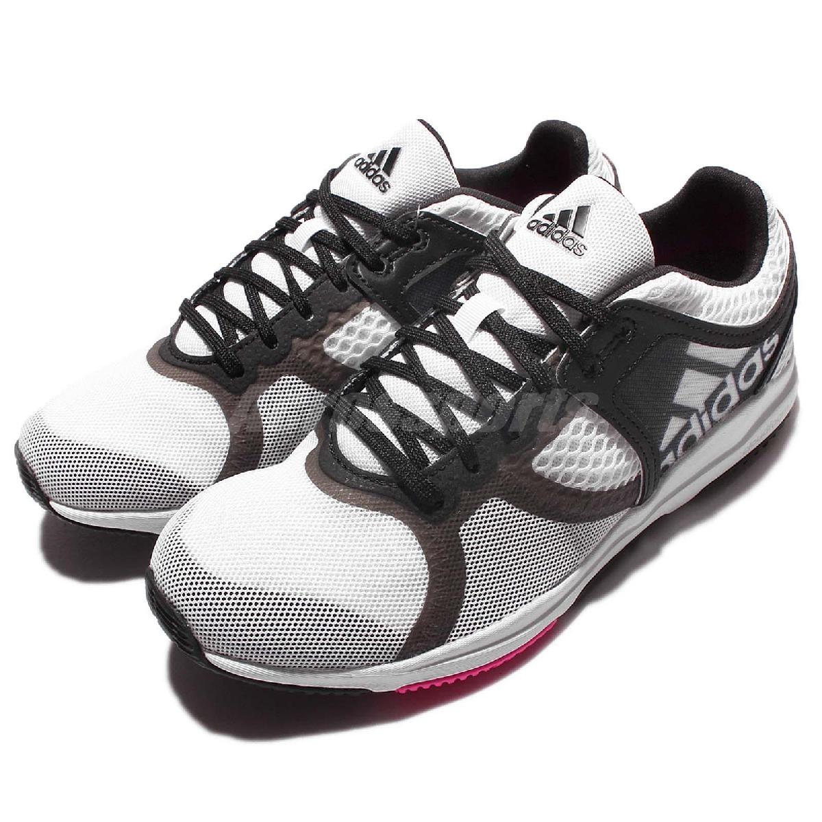 adidas 訓練鞋 Crazymove CF W 白黑 桃紅 白 黑 透氣穩定 運動鞋 女鞋【PUMP306】 AQ2638