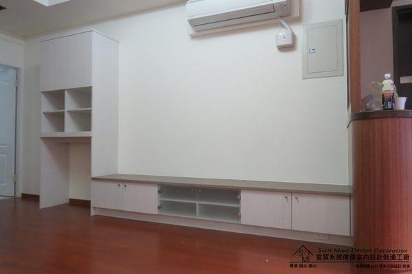 系統家具台中系統家具台中系統櫥櫃工廠台中室內裝潢公司系統收納櫃系統電視櫃-sm0313
