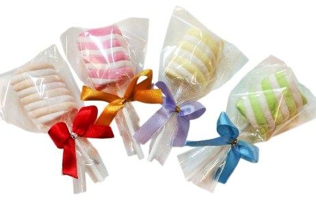 娃娃屋樂園~超大花捲.棉花糖/棒棒糖 10枝60元/喜糖/婚禮小物/畢業花束/小朋友的畢業禮物