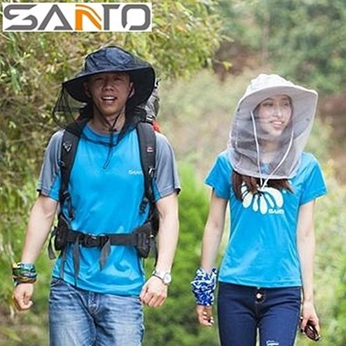 又敗家@Santo防蟲罩防蟲套(讓遮陽帽防曬帽變成防蚊帽防蚊蟲帽)防蟲網防蚊蟲網防蜂網防蜜蜂網