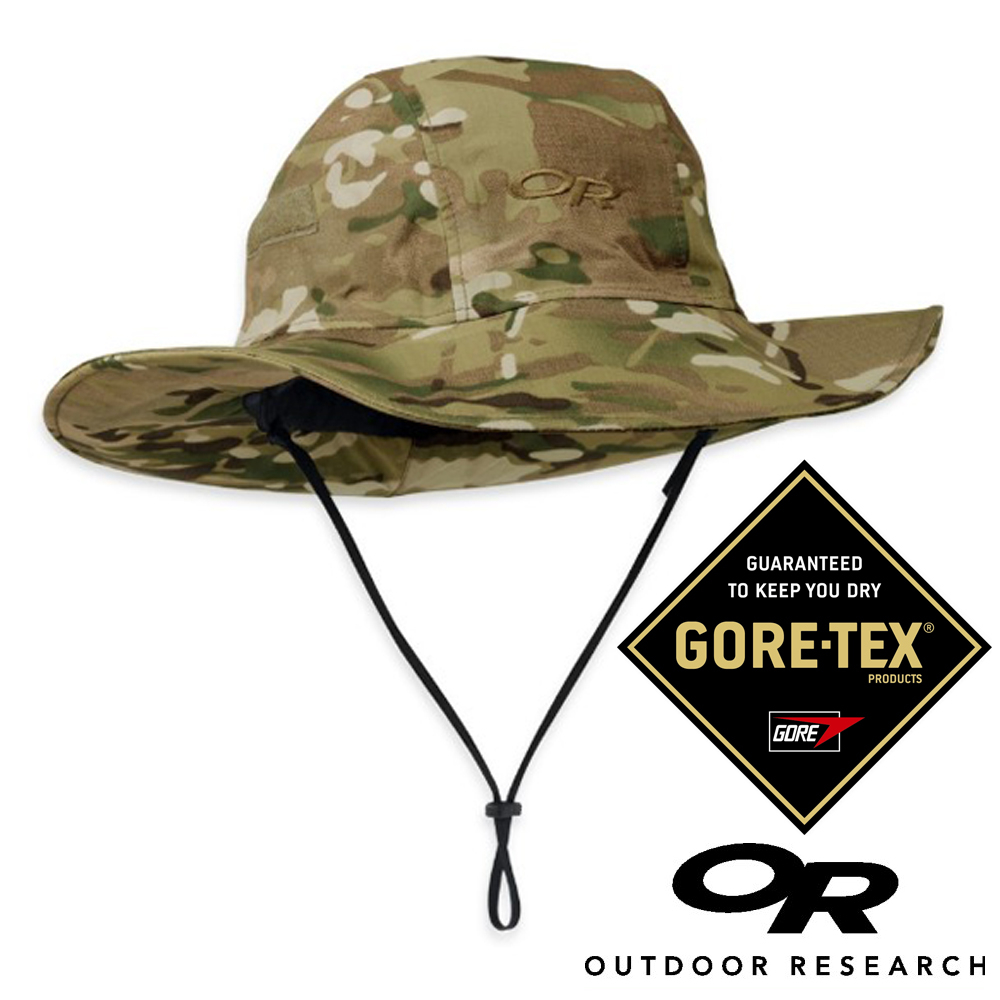 Outdoor Research SeattleSombrero GORE-TEX防水圓盤帽50 UPF迷彩登山旅遊戶外牛仔帽243506