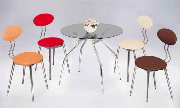 HY-Y295-11  優莉餐椅(電鍍)