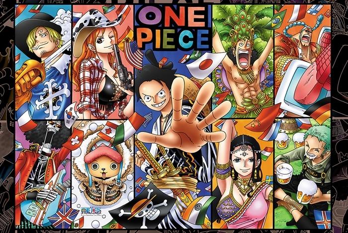 拼圖總動員PUZZLE STORY航海王-四海一家PuzzleStory海賊王One Piece 300P
