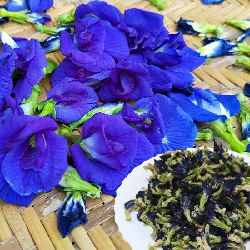 屏東小農蝶豆花 手工天然日曬 純泰國種子栽種30g