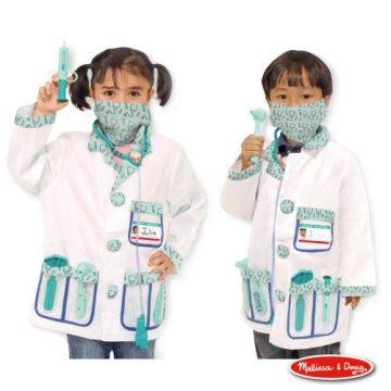 美國瑪莉莎Melissa Doug角色扮演醫生服遊戲組