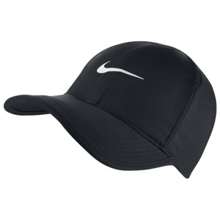★現貨在庫★ NIKE FEATHER LIGHT CAP 帽子 老帽 休閒 小勾 可調整 黑【運動世界】679421-010