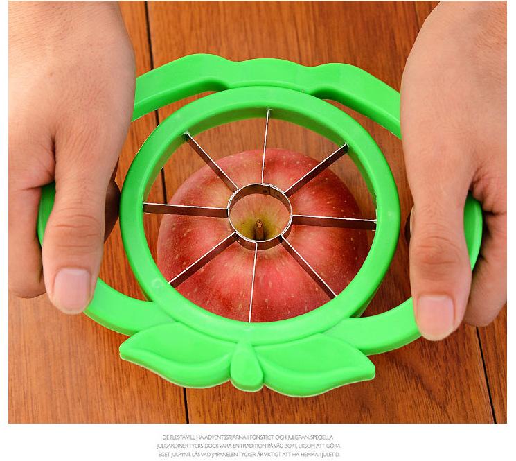 居家用品生活雜貨水果切削蘋果切片器不銹鋼不挑色寶貝童衣