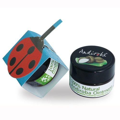 Green Plus綠機花園 小安第羅巴草本蚊蟲咬舒緩修護膏10g~1瓶
