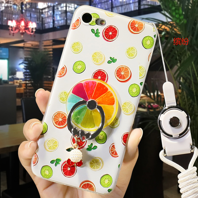 iphone 6 plus手機殼iphone 6s手機套iphone 6手機保護殼蘋果6S Plus夏日清涼水果軟殼送掛繩潮