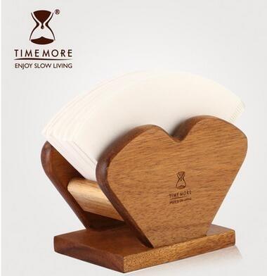 銀杏葉手衝咖啡濾紙架 V60錐形 扇形過濾紙通用