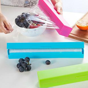 TwinS加大尺寸日式創意保鮮膜切割器可適用於市售各種保鮮膜