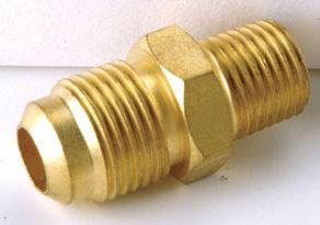 銅接頭 銅管接頭 1/2 PT外牙*5/16 銅管