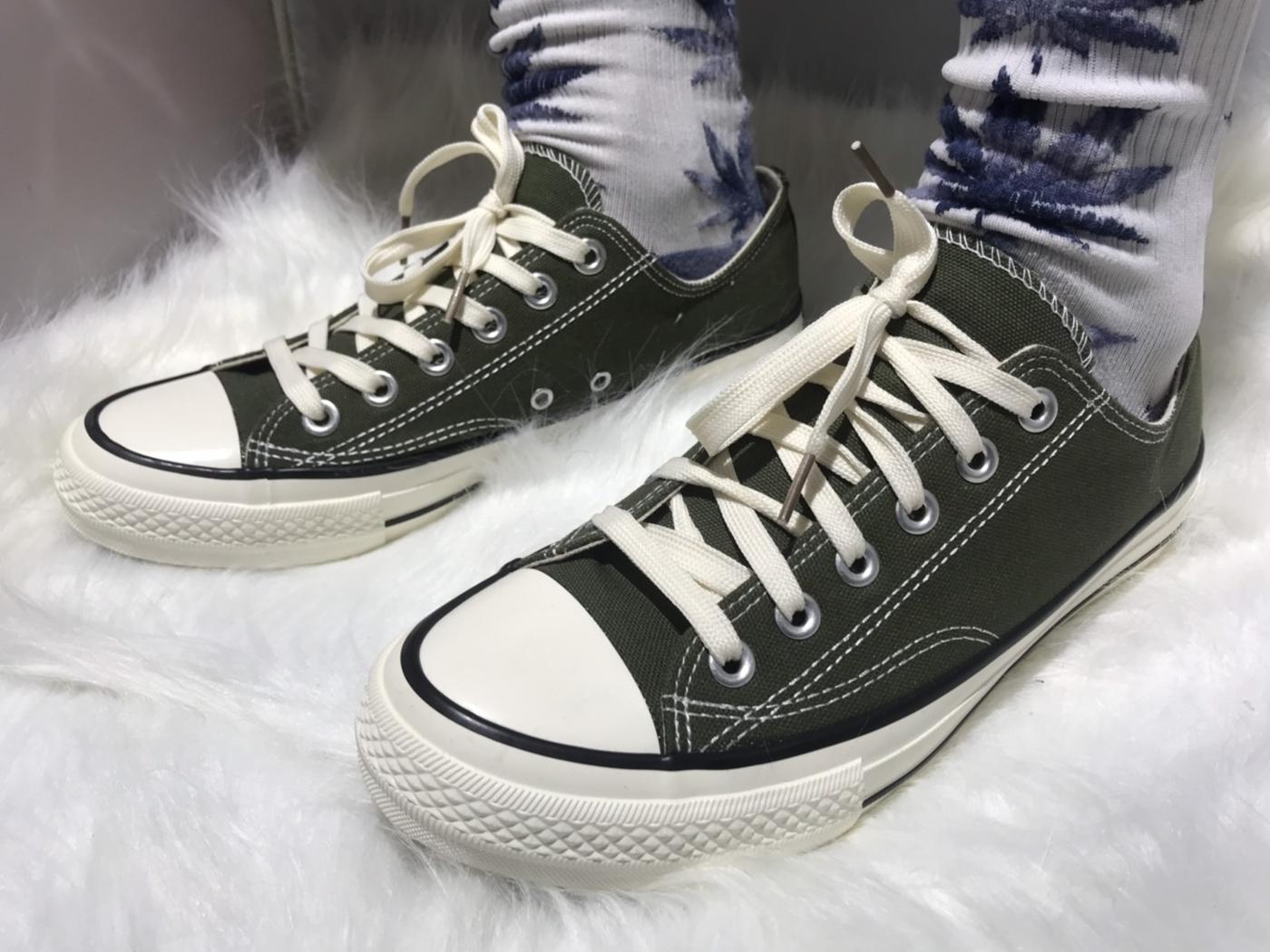 X-INGCHI. 擦油基本男布鞋 綠 NO. X0003