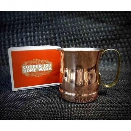 福介生活館~日本銅杯清涼暢飲新光堂銅製馬克杯570cc咖啡杯啤酒杯銅茶杯水杯下午茶