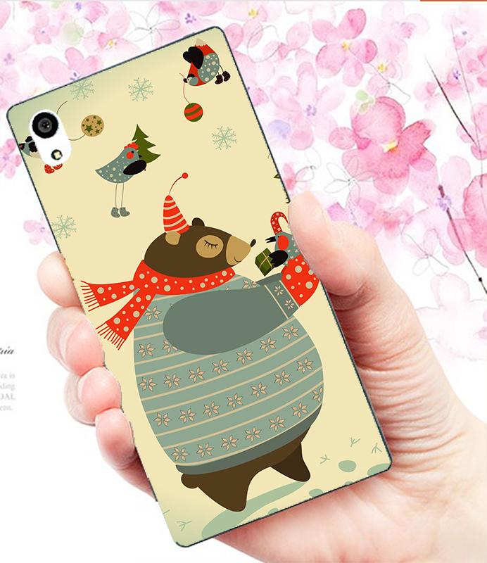 3C膜露露硬殼胖胖熊Sony Xperia XA Ultra手機殼手機套保護套保護殼