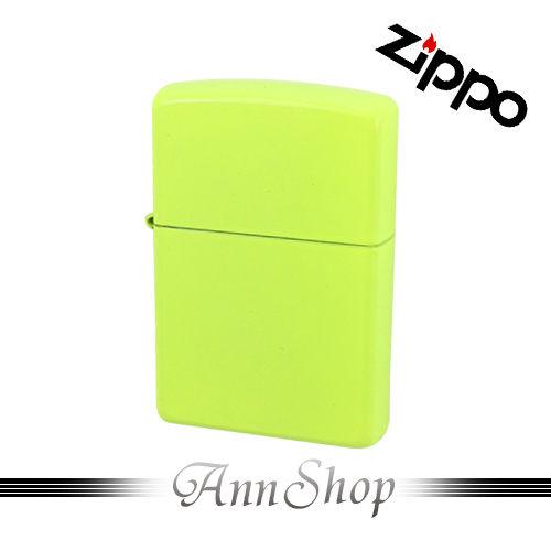 【Zippo‧螢光黃烤漆ZIPPO打火機】全球知名防風打火機‧情人禮物