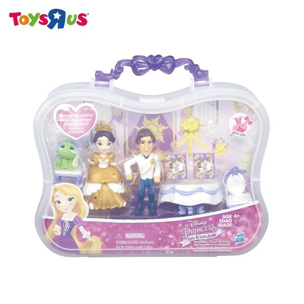 玩具反斗城迪士尼迷你公主故事場景組