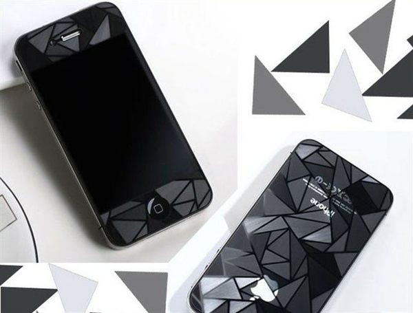 Samsung Galaxy Note3 N7200 N900 N9000 N9005專用3D三角形霧面手機螢幕保護貼保護貼保貼