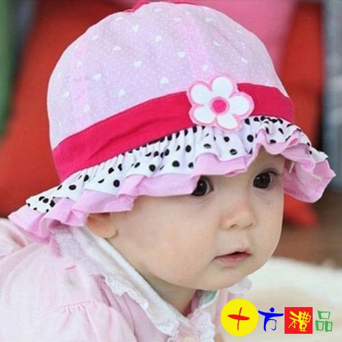 可愛寶寶遮陽帽淑女漁夫帽盆帽十方佛教文物