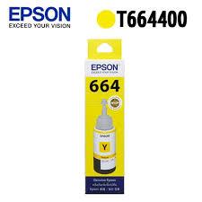 ★EPSON 原廠墨水匣 T664400(黃)★適用機型: L100 / L110 / L120 / L200 / L210 / L300 / L350 / L355 / L550 / L555 / L1300