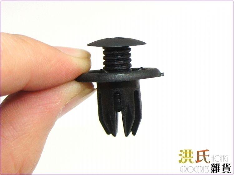 【洪氏雜貨】256A202 K047 T4門板扣子 黑色 1顆2元 汽車改裝門板扣 卡扣 卡子 塑膠門扣 扣子 固定扣