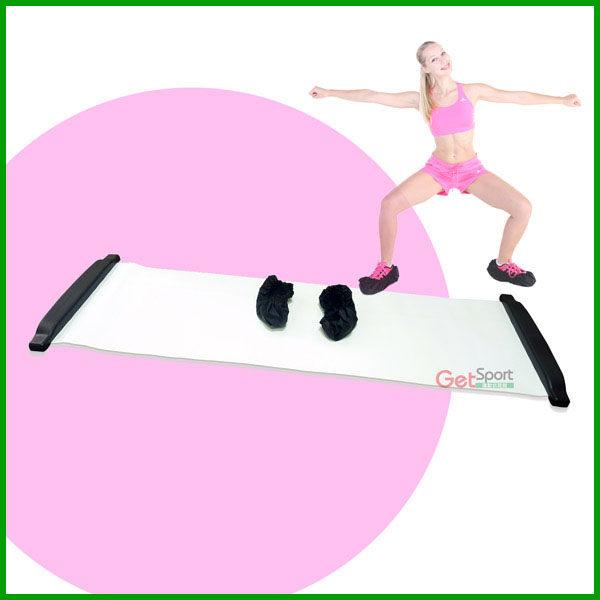 滑步器綜合訓練墊滑板Slide Board健腹器