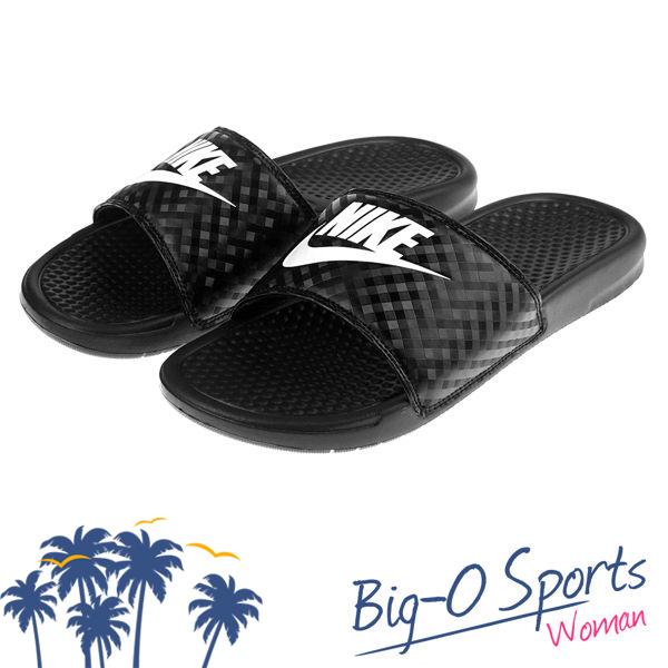 感謝有妳NIKE耐吉Nike WMNS BENASSI JDI運動拖鞋黑343881011 Big-O Sports