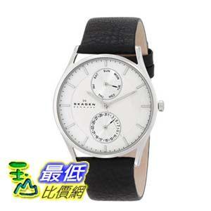 [104美國直購] Skagen 男士手錶 SKW6065 Holst Quartz/Multi Stainless Steel Black Watch $5678