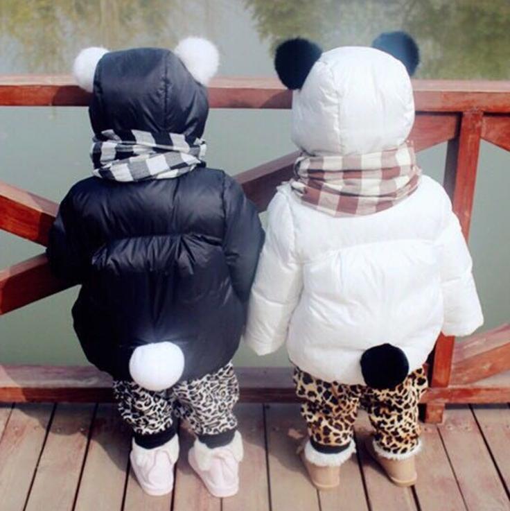 [秋冬最萌精選] 熊貓造型兒童厚外套 嬰幼兒 可愛 加厚防風 童裝 媽咪寶貝 保暖 吸睛 兒童服飾