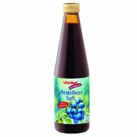 德國維可Voelkel有機藍莓汁 330ml    6罐