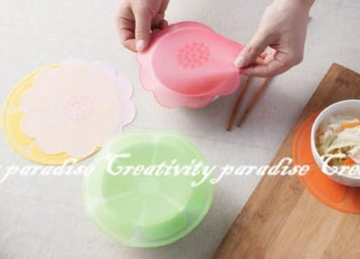 【糖果色保鮮膜】吸附性強食品級矽膠密封蓋 保鮮蓋 防滑墊