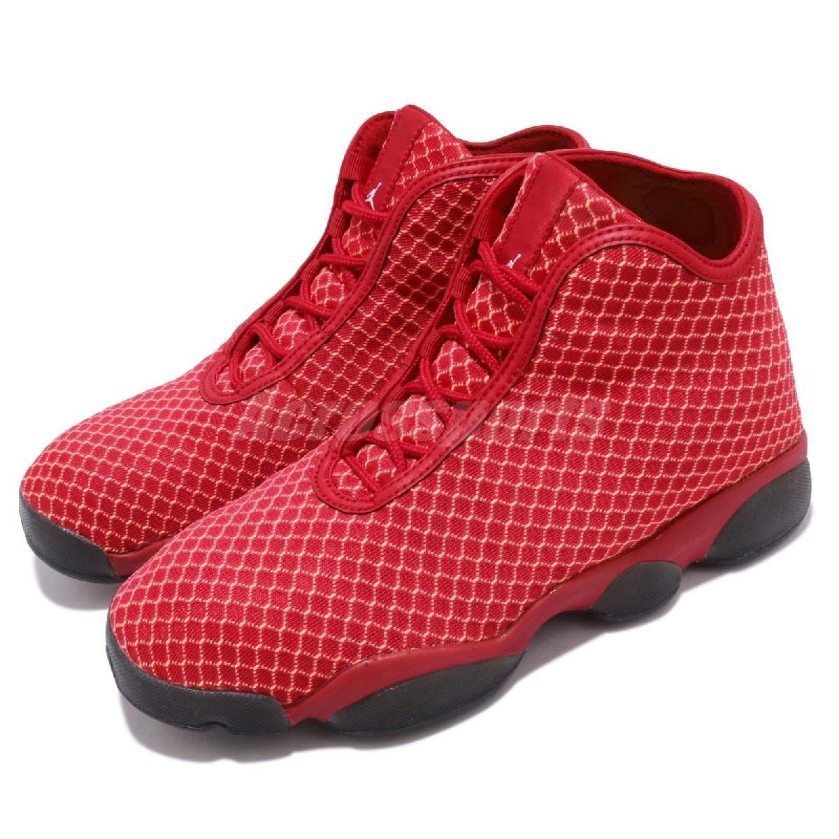 Nike籃球鞋Jordan Horizon BG紅黑喬丹飛人女鞋大童鞋PUMP306 823583-600