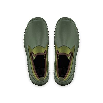 園藝系鞋 園藝用品 防水鞋 防泥沙 防石礫鞋-法國設計摩荳園藝系鞋 草綠色系
