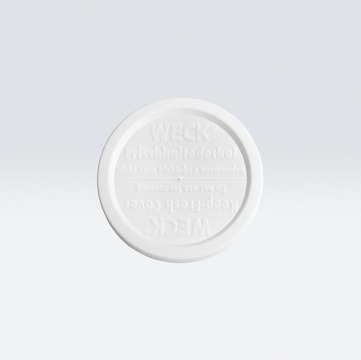 德國【Weck】白塑膠蓋 80mm (M)