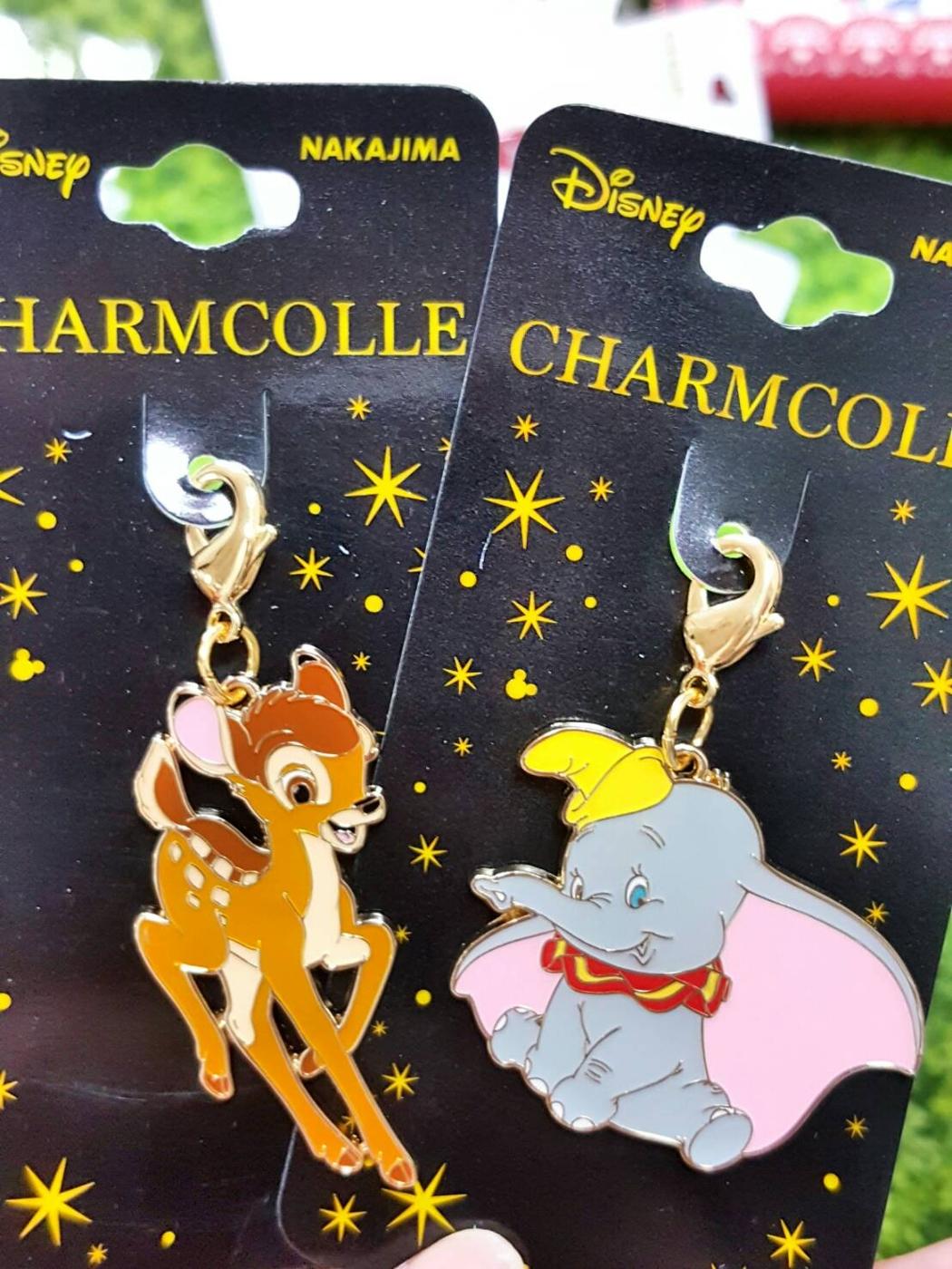 日本小飛象小鹿斑比吊飾鑰匙圈拉鍊吊飾084156通販屋
