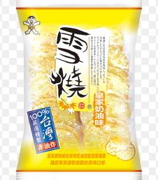 旺旺雪燒米果-皇家奶油味單包合迷雅好物超級商城