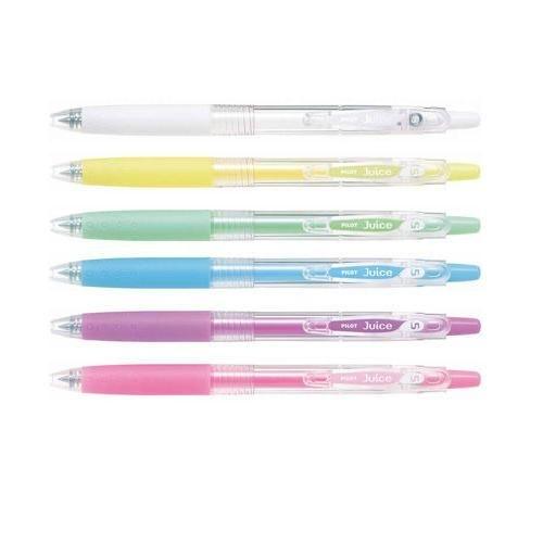《☆享亮商城☆》LJU-10EF-PL 粉藍 Juice 0.5果汁筆 百樂