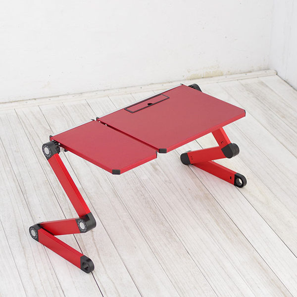 摺疊桌電腦桌懶人桌鋁合金可折疊電腦桌Life Beauty