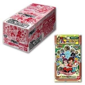 支援3DS 12月最新妖怪手錶U幽靈手錶U專用徽章stage2銀幕階段2更新整盒12包玩樂小熊