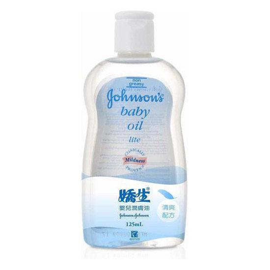 嬌生嬰兒潤膚油-清爽125ml*維康